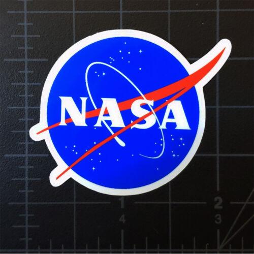 "NASA ""Meatball"" Logo Space Decal Vinyl Glossy Sticker 2"" New"