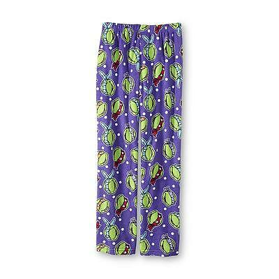 Womens Ninja Turtle (Womens Medium Teenage Mutant Ninja Turtle Pajamas Pants Bottoms Soft Fleece 6-8)