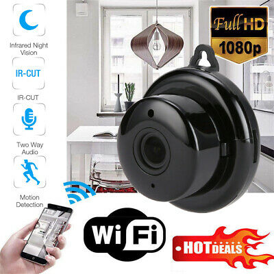 Mini WiFi Spy Hidden Camera HD 1080P IP Wireless DIY Home Security Camcorder USA