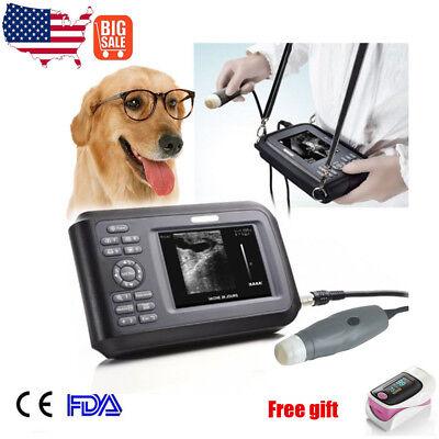 Veterinary Ultrasound Scanner Machine Handheld Machine Animal Outdoor Dogpet V7
