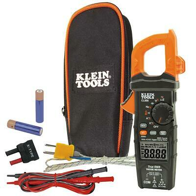 Klein Tools Digital Clamp Meter 600 Amp Audible Alert Auto Ranging Backlit