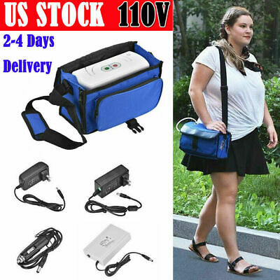 3L/Min Car Portable Home O2 Oxygen-Concentrator Oxy-Generator Air Purifier