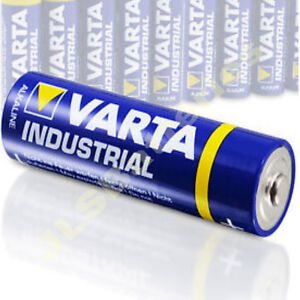 20 aa varta industrial alkaline batteries procells ebay. Black Bedroom Furniture Sets. Home Design Ideas