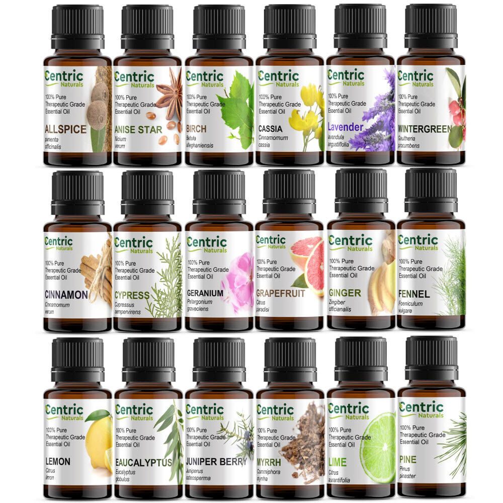 1oz (30ml) 100% Pure Natural Essential Oils - Choose From 60 - FREE SHIPPING
