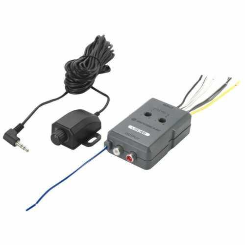 SCOSCHE LOC90 2 Channel Car Line Output Converter Remote Level Control Bass Knob