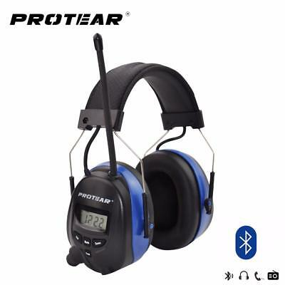 Nrr 25db Hearing Protector Amfm Radio Earmuffs Electronic Protection New Hot