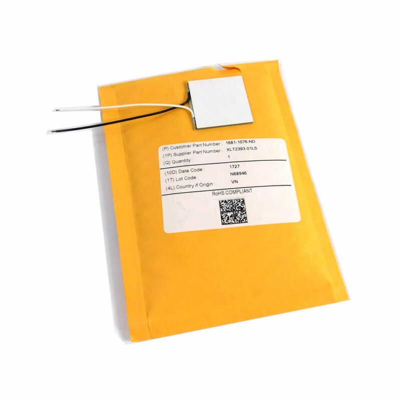 NEW Marlow XLT2393-01LS Single-Stage Thermoelectric Module 125C Operating Temp.