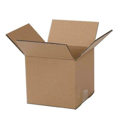 100 4x4x4 Cardboard Paper Boxes Mailing Packing Shipping Box Corrugated Carton