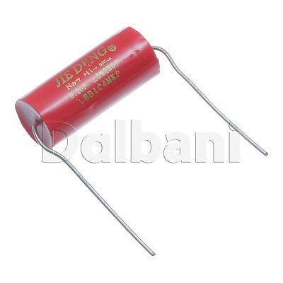 2pcs Cbb104mkp New Metallized Polypropylene Mkp Audio Capacitor 250v .1uf
