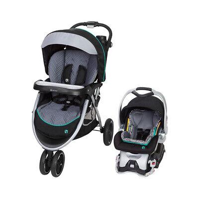 Baby Trend Skyview Plus Verstellbares Kinderwagen- und Autositz-Reisesystem, Ziggy