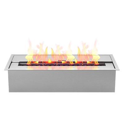 outdoor fire pit tabletop portable fire bio ethanol fireplace burner insert  ()