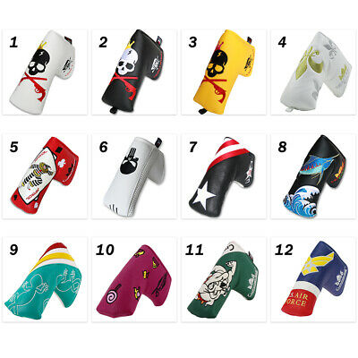 Putter Cover Headcover Magnetic for Scotty Cameron Blade Style Putter Clubs New Magnetic Blade Putter Cover