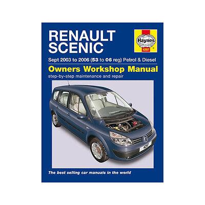 Renault Scenic 1.4 1.6 Petrol 1.5 1.9 TD 03-06 (53 to 06 Reg) Haynes Manual