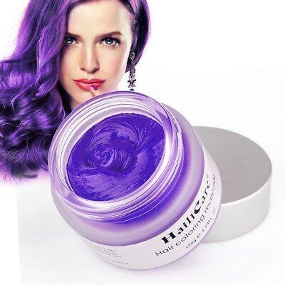 Men Women Styling Hair Wax Pomade Hairstyle Cream Gel Disposable Unisex