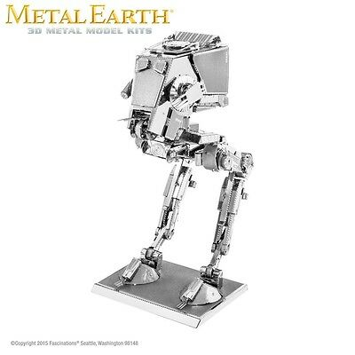 Fascinations Metal Earth AT-ST Walker Star Wars Episode 7 Force Awakens 3D Model