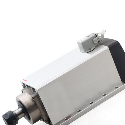Us2.2kw Er20 Air Cooled 220v Square Spindle Motor 18000rpm Cnc Router Engraving