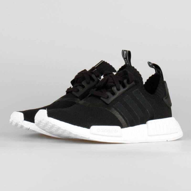 30801f5d45b99 Adidas NMD R1 PK Black White OG Monochrome Size 14. BA8629 yeezy ultra boost
