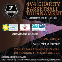 4v4 Charity Basketball Tournament