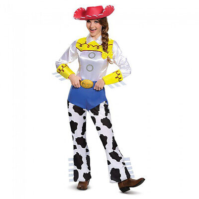 Jessie Costume Toy Story Womens Deluxe Jumpsuit