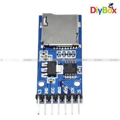 New Micro Sd Tf Card Storage Memory Module Spi Level Conversion For Arduino Diy