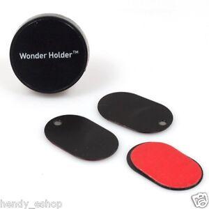 GENUINE WONDER HOLDER MAGNETIC PHONE SAT-NAV HOLDER STICK ON MOUNT QUICK FIT