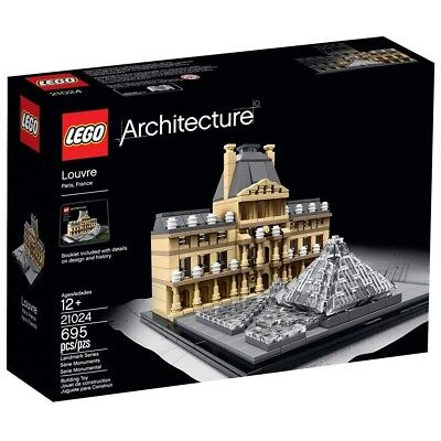 LEGO Architecture THE LOUVRE 21024 *NEW*SEALED*PRIORITY MAIL*