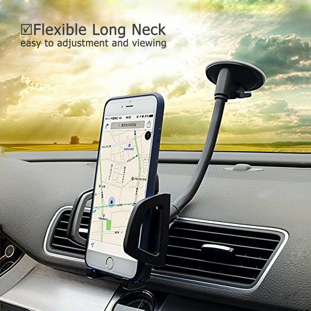 Car Phone Mount, Vansky 3-in-1 Universal Phone Holder Cell P