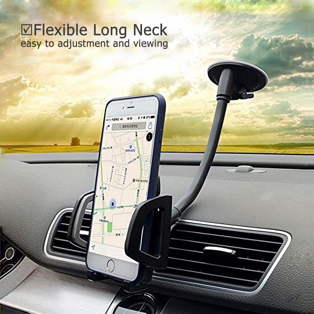 Car Phone Mount, Vansky 3-in-1 Universal Phone Holder Cell P