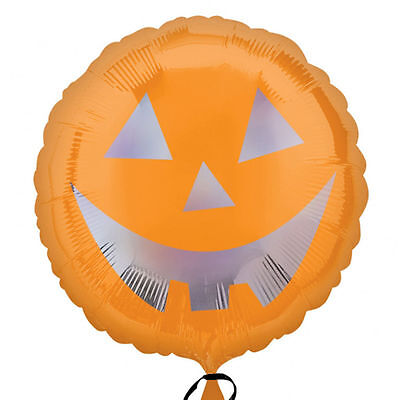 Decorate Halloween Party Cheap (CHEAP Halloween Pumpkin Face Foil Helium Balloon Halloween Party)