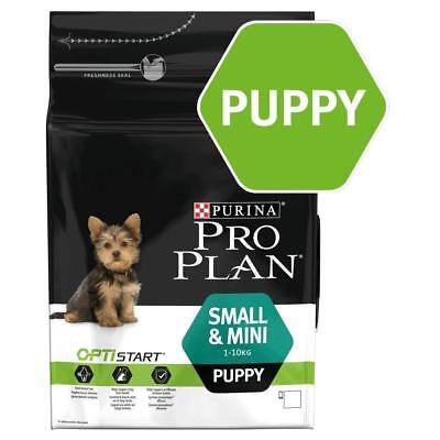 Purina Pro Plan Small And Mini Puppy With Optistart Dry Dog Food Rich In 3 Kg
