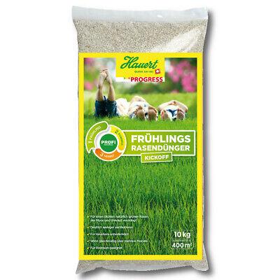 Lawn Fertilizer Hauert Progress Spring 10 kg Kickoff startdünger Professional