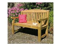 EMILY 5 FOOT WOODEN GARDEN BENCH BRAND NEW TANALISED TIMBER RRP£249 1 OFF BARGAIN TO CLEAR +MORE!!!!