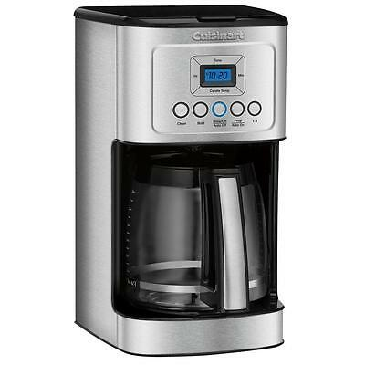 Cuisinart 14 Cup Stainless Steel Programmable Coffee Maker - Recertified