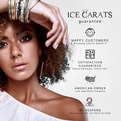 14k Yellow Gold Multi Gemstone Link Bracelet Fine Jewelry Women Gifts Her 5