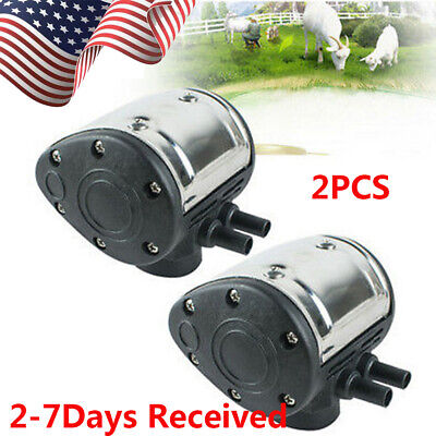 From Us2pc L80 Pneumatic Pulsator For Cow Milker Milking Machine Dairy Farm Fda