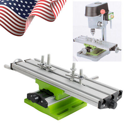 Usa Compound Work Table Xy 2 Axis Cross Slide Milling Machine Bench Drill Vise A
