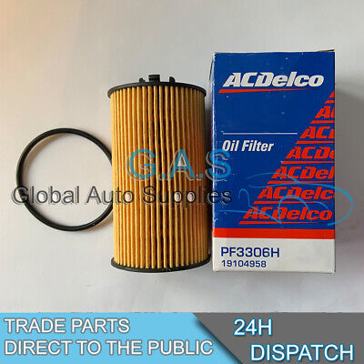 Genuine ACDelco Oil Filter for Vauxhall Corsa C 1.0 1.2 1.4