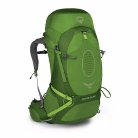 Osprey Atmos AG 50 Rucksack Backpack Absinthe Green NEW