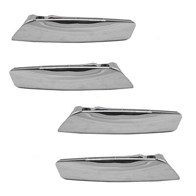 Chevy GMC Cadillac Pickup Truck 4 Pc Set Inside Chrome Door Handle Repair Kits