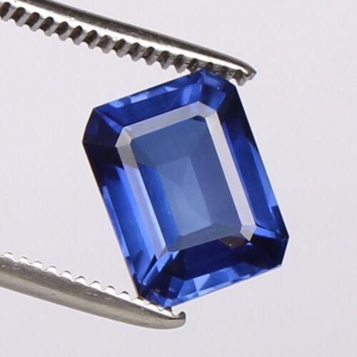 Natural Blue Sapphire 6.70 Ct Kashmir Royal Octagon Cut Certified Loose Gemstone