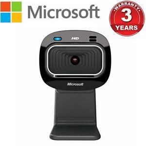 Webcam Microsoft Lifecam HD-3000 with Mic USB 720P Camera Laptop PC Skype Cam
