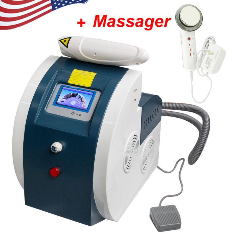 Q Switch YAG LASER Tattoo Removal System Eyebrow flecks Removal Machine USA SELL