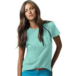 a8ee0c72 Hanes Women's Relaxed Fit Jersey ComfortSoft Crewneck T-shirt 5680 ...