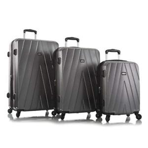 "Leo by Heys - Legacy Hard Side Spinner Luggage 3pc Set - 31"", 27"" & 21.5"""