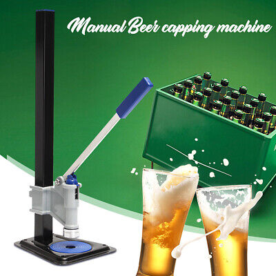 New Manual Beer Capping Machine Beer Cap Sealing Glass Bottle Capper Usa