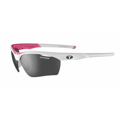 Tifosi Optics Vero Blanco/Humo Ciclismo Gafas de Sol 3 Lentes y Estuche...