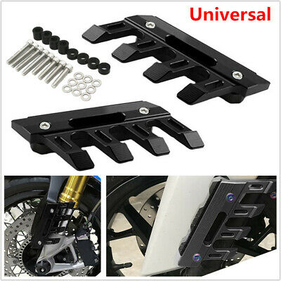 Motorcycle CNC Anti Falling Front Fork Fender Cover Protection Mud Flap Frame