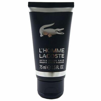 Lacoste L Homme 75 ml Aftershave Balm Balsam After Shave NEU OVP
