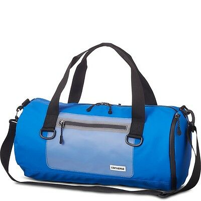 Converse All Star Translucent Rubber Duffel Barrel Bag Soar Blue - RRP £60 BNWT