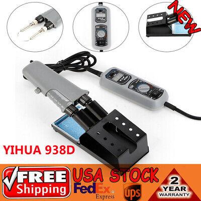 Yihua 938d Desoldering Hot Tweezers Mini Soldering Iron Station For Bga Smd 110v